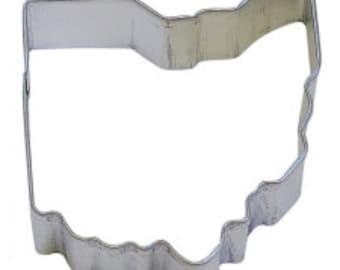 """3"""" State of Ohio Cookie Cutter birthday party treats 4th of July Memorial Day labor Day 1435"""
