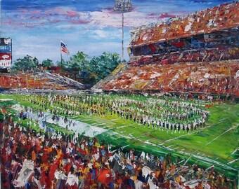 U of Arkansas at Fayetteville Football stadium-Pen King -6653