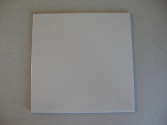 White Mexican Ceramic Floor Tile 8x8 Sold Per Sq By