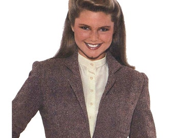 Simplicity 9178 Sewing Pattern E.S.P. Extra-Sure Pattern Misses Lined Blazer Size U 16-20 Used