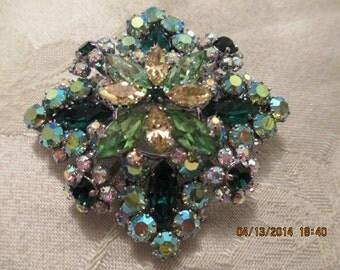 Austrian Crystal Brooch