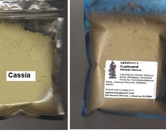 Herbal Henna 4 oz + Cassia 4 oz - Strawberry Blonde Color