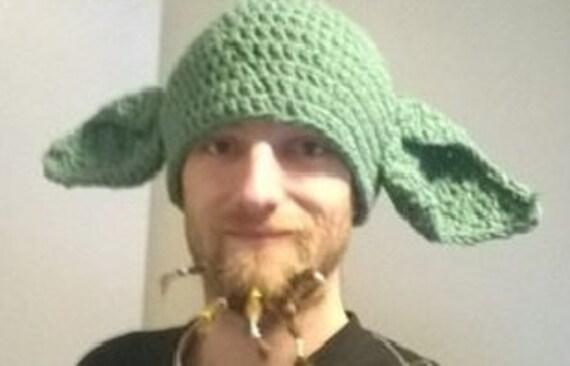 Handmade YODA inspired hat