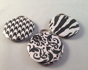 Black and White Bottle Opener