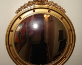 Federal Eagle Large Bullseye Mirror, Pick up Only in Boston