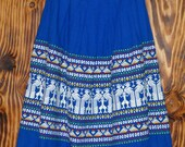 Vintage 50s Skirt From Guatamala Vintage Full Skirt