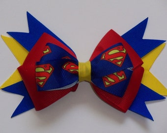 Superman Superhero Bow