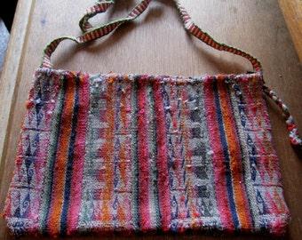 """Bolivian Coca Leaf Bag """"Chuspa"""" No. 14"""