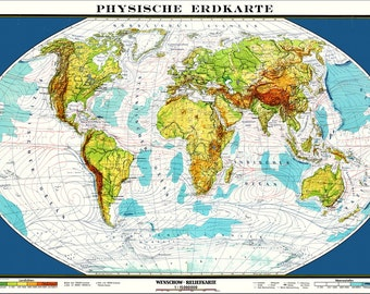 World Map Map Of The World World Map Poster Large World - Large map of earth