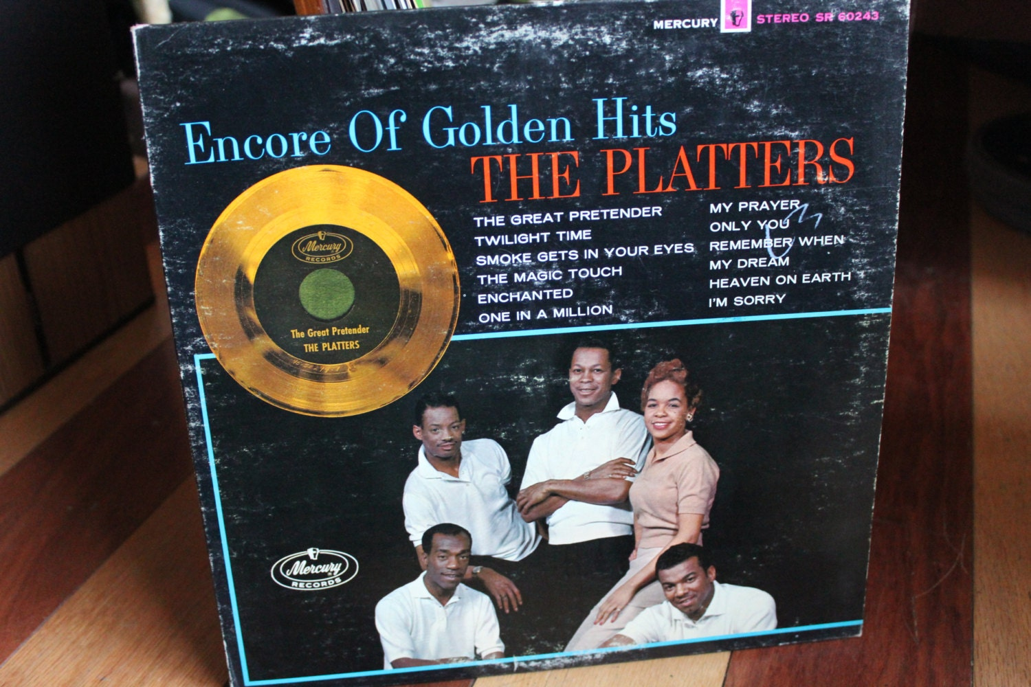The Platters Encore Of Golden Hits Vinyl Record