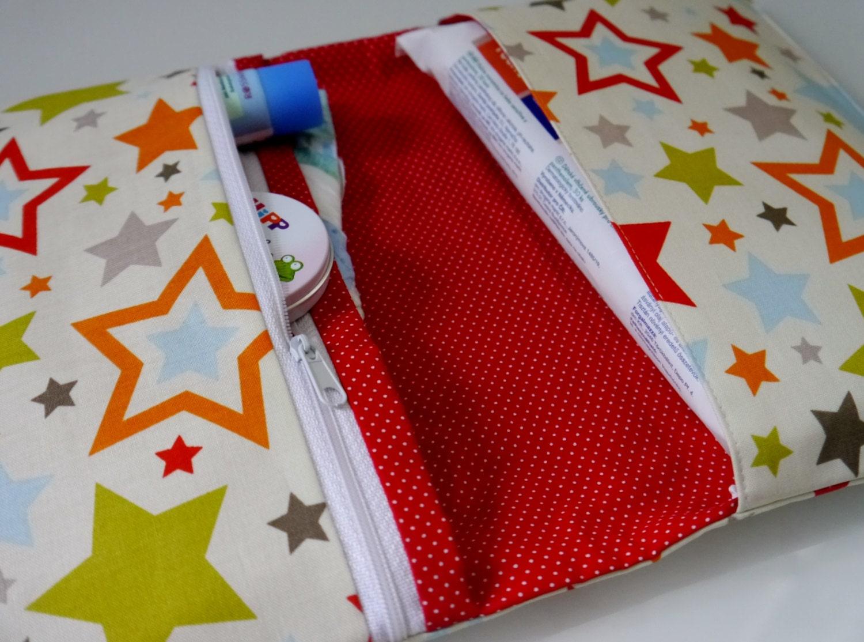 diaper clutch diaper bag diaper wipes bag by littlefriendsee. Black Bedroom Furniture Sets. Home Design Ideas