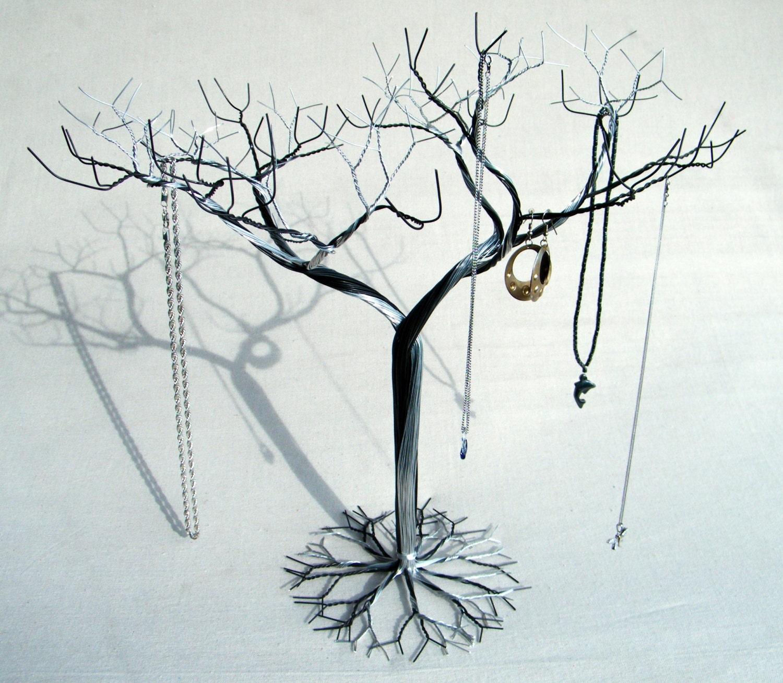 Hybrid jewelry tree stand jewelry holder organizer by kunswerk