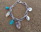 Charm bracelet beach style