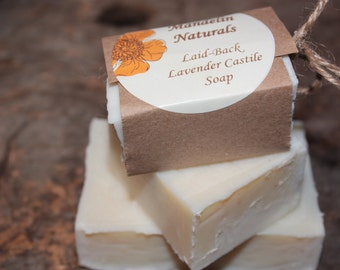 Laid-Back Lavender Castile Soap - Large Bar