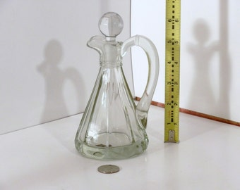 Glass Perfume bottle with glass stopper