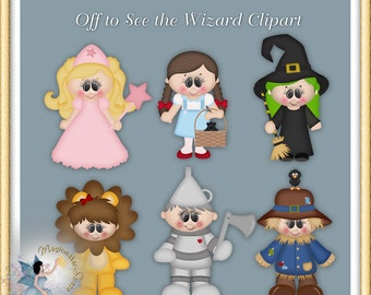Off to See the Wizard Clipart