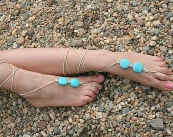 Barefoot sandals.Crochet barefoot sandles, crochet barefoot sandals,