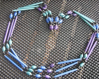 "30"" 3 Strand Bead Necklace"