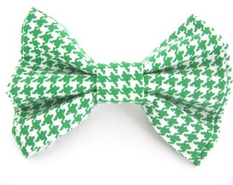 Green Dog Bow Tie ,Bow Tie For Dog ,Dog Bow Tie Wedding ,Dog Collar Accessory