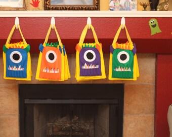 Monster Art Tote Bag