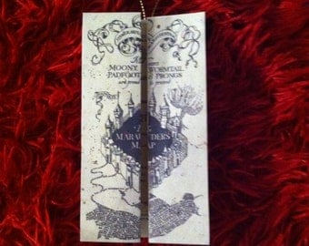 Harry Potter Marauders Map Christmas Ornament