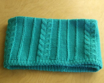 neck warmer baby turquoise