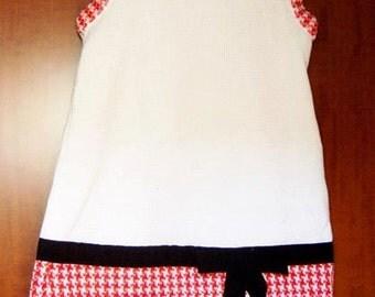 baby dress knitting wool cotton sleeveless dress