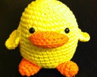 Duck Amigurumi Toy