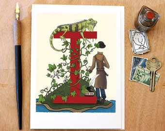 The Alphabet Series : Letter I - Card or 8x10 Print