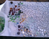 Assorted Beach Glass - 2 oz - Various colors