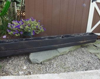 Window planter box/Flower box/Wood planter box/Reclaimed wood planter