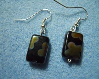 Flower Square Earrings