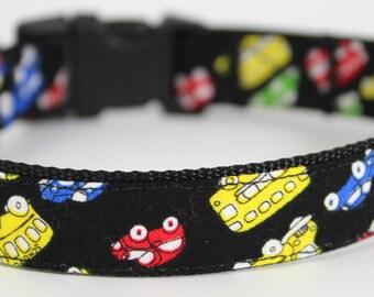 City Cars Dog Collar
