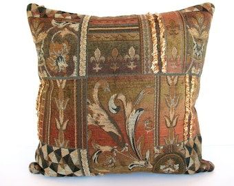 Popular Items For Pillow Cover Rust On Etsy