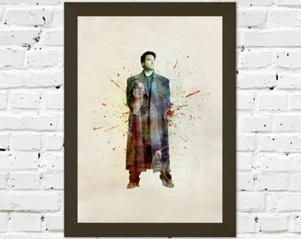 0081 Torchwood Captain Jack A3 Wall Art Print Multiple Sizes