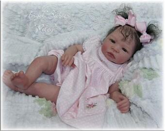 Reborn Supply Vinyl Doll Kit Baby RILEY Aleina Peterson Lifelike Realistic 2977