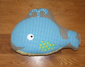 Wilhelm Whale cushion