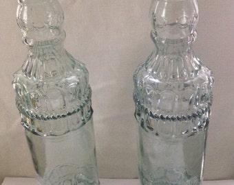 Two Vintage bottles