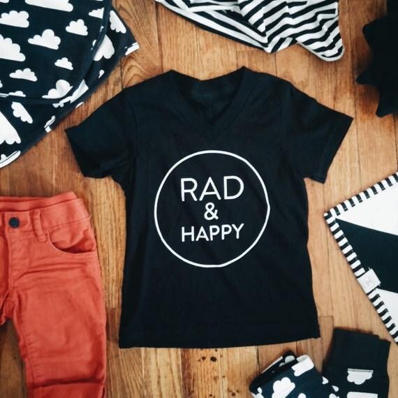 Rad & Happy Children's T-shirts