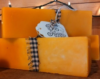 10 pounds all natural pure unbleached and unfiltered beeswax, bulk beeswax, wholesale beeswax, beeswax candles