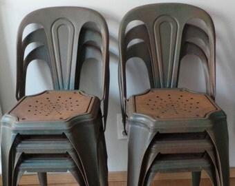 Fibrocit industrial chairs x6