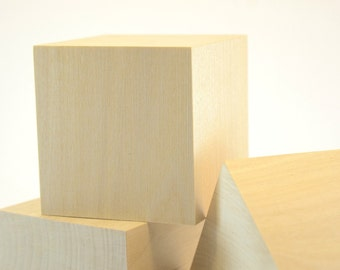 Large inch unfinished birch wood blocks for wood for Large wooden blocks for crafts