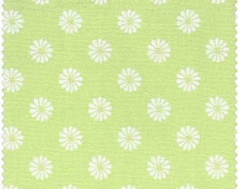 Fat Quarter Monaco - Small Daisy, Light Green - Red Rooster (445424752LTGRE1)