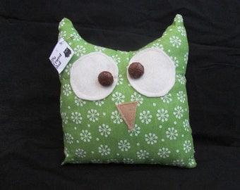 My Friend Owl pillow GREEN