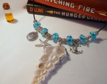 Scented Essential Oil Necklace Inspired by Finnick in the Hunger Games