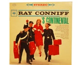 Ray Conniff Record Album - 'S Continental Vinyl LP