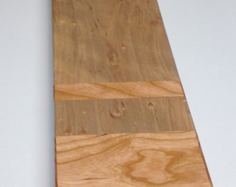 Birdseye maple and cherry bread & cheese board