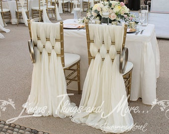 Wedding- Special Event Chiavari Chair Cover Weaved