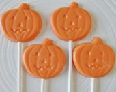 15 Chocolate Small Pumpkin Halloween Lollipops Edible Jack O Lantern Halloween Treats Halloween Party Pumpkin Patch Kids School Party