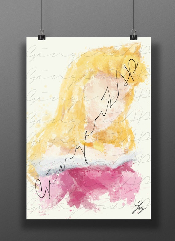 Princess of the spindle impressionist digital painting for Abstract impressionism definition